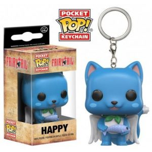 Pocket Pop keychain happy